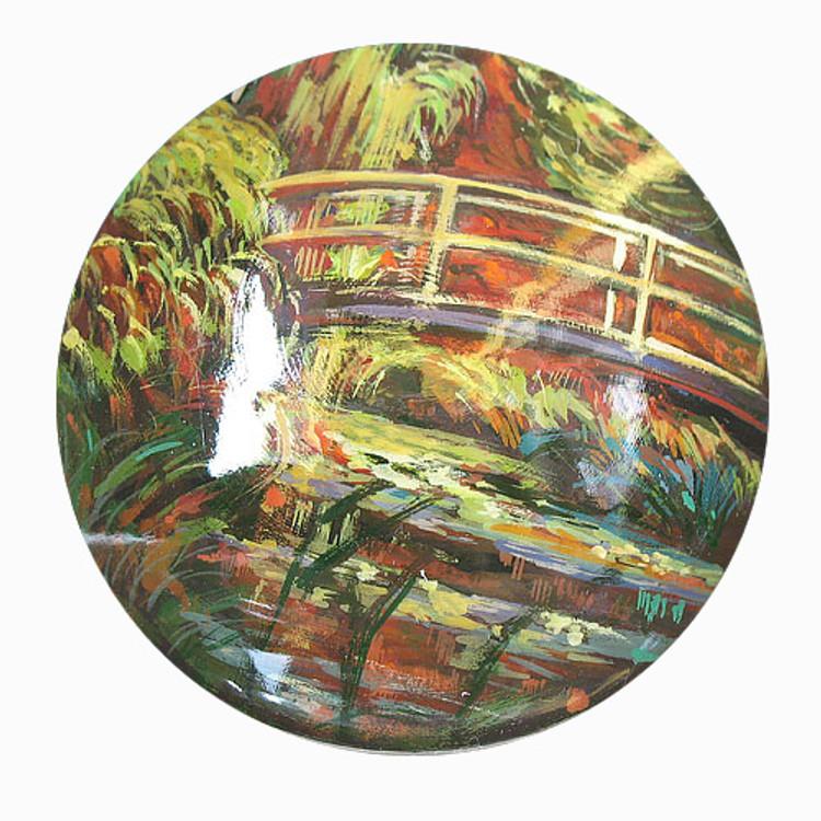 Bridge Over Water Lilies [Claude Monet]