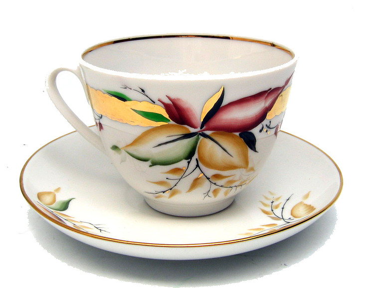 September Cup and Saucer