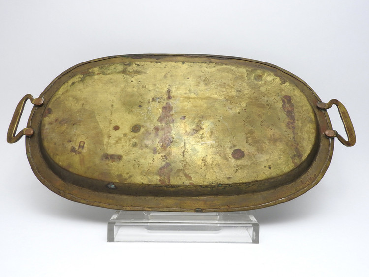 Pre-War Tula Brass Serving Tray