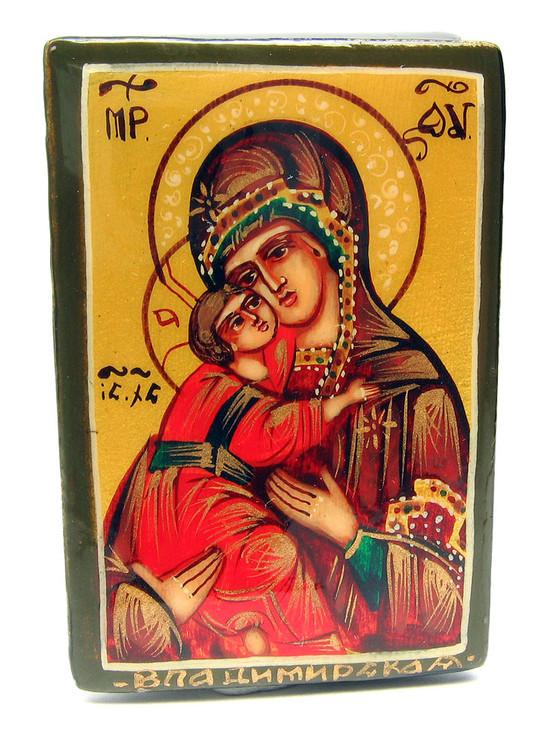 Virgin of Vladimir Icon Box