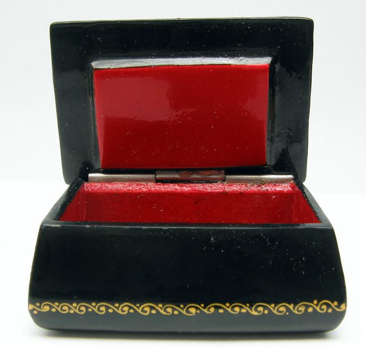 Box shown open