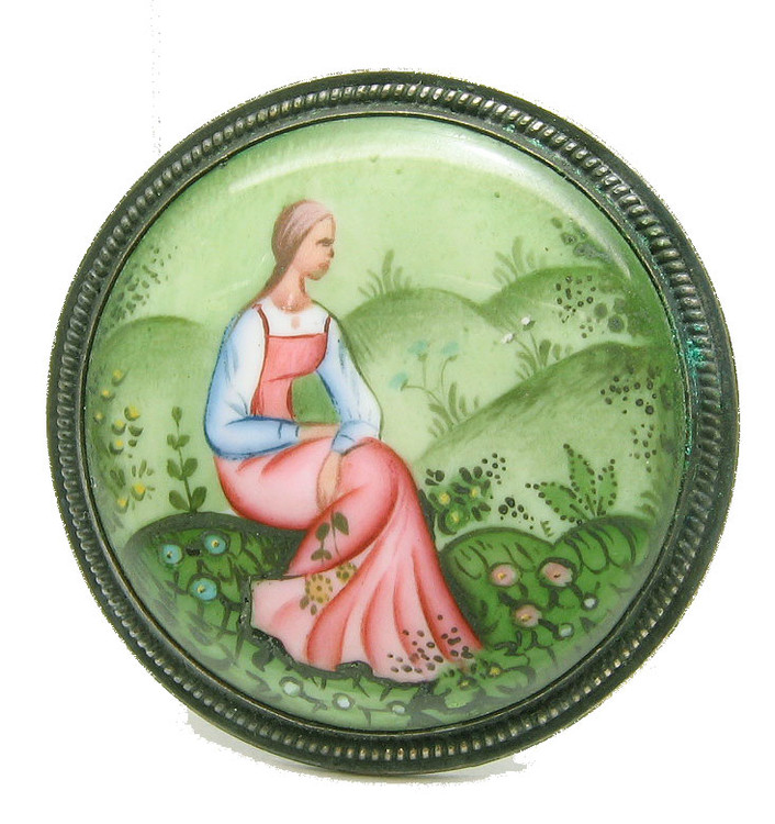 Pensive maiden Rostov finift