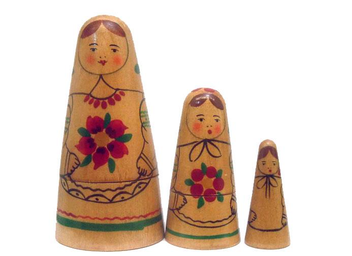 """Babenskaya"" Matryoshka: Early Tourist Era Dolls"