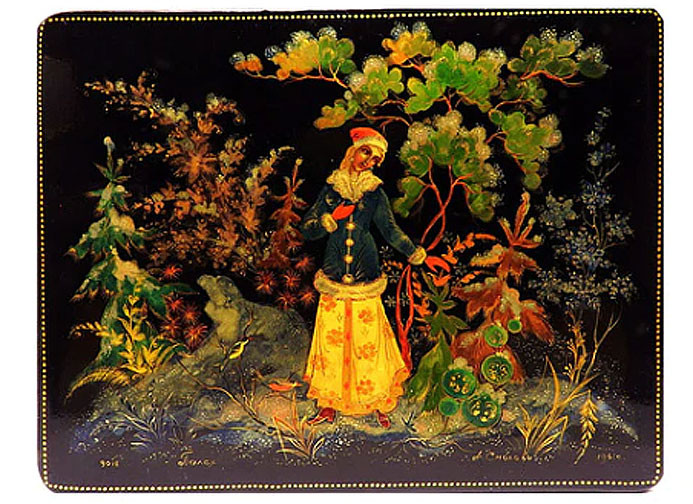 Russian Lacquer Boxes and Miniature Painting