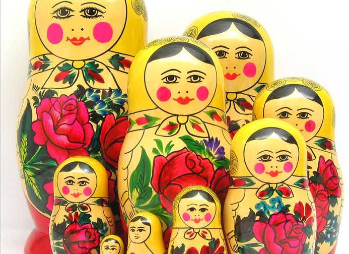 Collectible Nesting Dolls from Semenov
