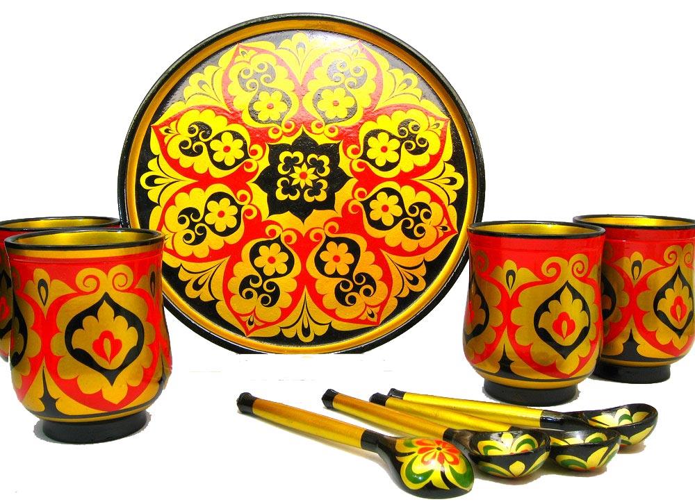 Traditional Khokhloma