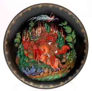 All About Russian Fairy Tale Plates