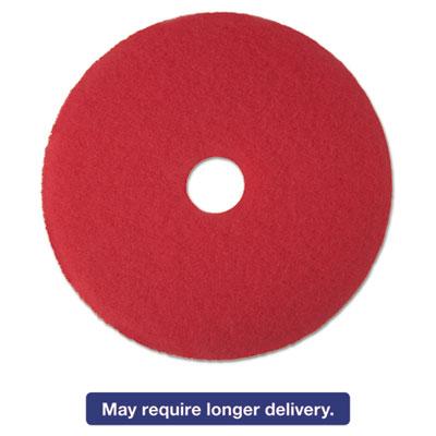 "5 Pads MCO 08395 3M Red 20/"" Floor Buffer Pad 5100"