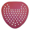 Boardwalk Gem Urinal Screen  Lasts 30 Days  Red  Spiced Apple Fragrance  12 Box (KRY EGEM72 SAP)