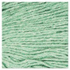 Boardwalk Super Loop Wet Mop Head  Cotton Synthetic Fiber  5  Headband  Medium Size  Green  12 Carton (UNS 502GN)