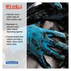 WypAll X80 Cloths with HYDROKNIT  Jumbo Roll  12 1 2w x 13 4 White  475 Roll (KCC 41025)