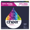 Cheer Powder Laundry Detergent  Fresh Clean Scent  169 oz Box  2 Carton (PGC 84929)