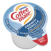 Coffee mate Liquid Coffee Creamer  French Vanilla  0 38 oz Mini Cups  180 Carton (NES 35070)