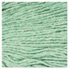 Boardwalk Super Loop Wet Mop Head  Cotton Synthetic Fiber  5  Headband  Large Size  Green (BWK503GNEA)