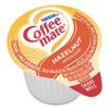 Coffee mate Liquid Coffee Creamer  Hazelnut  0 38 oz Mini Cups  180 Carton (NES35080)