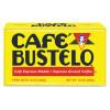 Caf?© Bustelo Coffee  Espresso  10 oz Brick Pack  24 Carton (FOL01720CT)