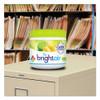 BRIGHT Air Super Odor Eliminator  Zesty Lemon and Lime  14 oz  6 Carton (BRI900248)