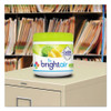 BRIGHT Air Super Odor Eliminator  Zesty Lemon and Lime  14 oz  6 Carton (BRI900248)