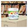 BRIGHT Air Super Odor Eliminator  White Peach and Citrus  14 oz  6 Carton (BRI900133CT)