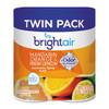 BRIGHT Air Automatic Spray Air Freshener Refill  Mandarin Orange   Fresh Lemon  2 Pack (BRI900346PK)