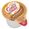 Coffee mate Liquid Coffee Creamer  Butterscotch  0 38 oz Mini Cups  50 Box  4 Boxes Carton  200 Total Carton (NES68613CT)