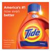 Tide HE Laundry Detergent  Original Scent  Liquid  64 Loads  92 oz Bottle  4 Carton (PGC40217)