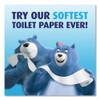 Charmin Ultra Soft Bathroom Tissue  Septic Safe  2-Ply  White  4 x 3 92  264 Sheets Roll  18 Rolls Carton (PGC52776)