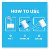 Mr. Clean Magic Eraser  2 3 10 x 4 3 5 x 1  White  6 Pack  6 Pack Carton (PGC79009)
