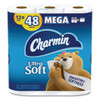 Charmin Ultra Soft Bathroom Tissue  Septic Safe  2-Ply  White  4 x 3 92  264 Sheets Roll  12 Rolls Pack (PGC79546PK)