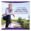 Always Discreet Sensitive Bladder Protection Pads  Heavy  Long  39 Pack (PGC92729PK)