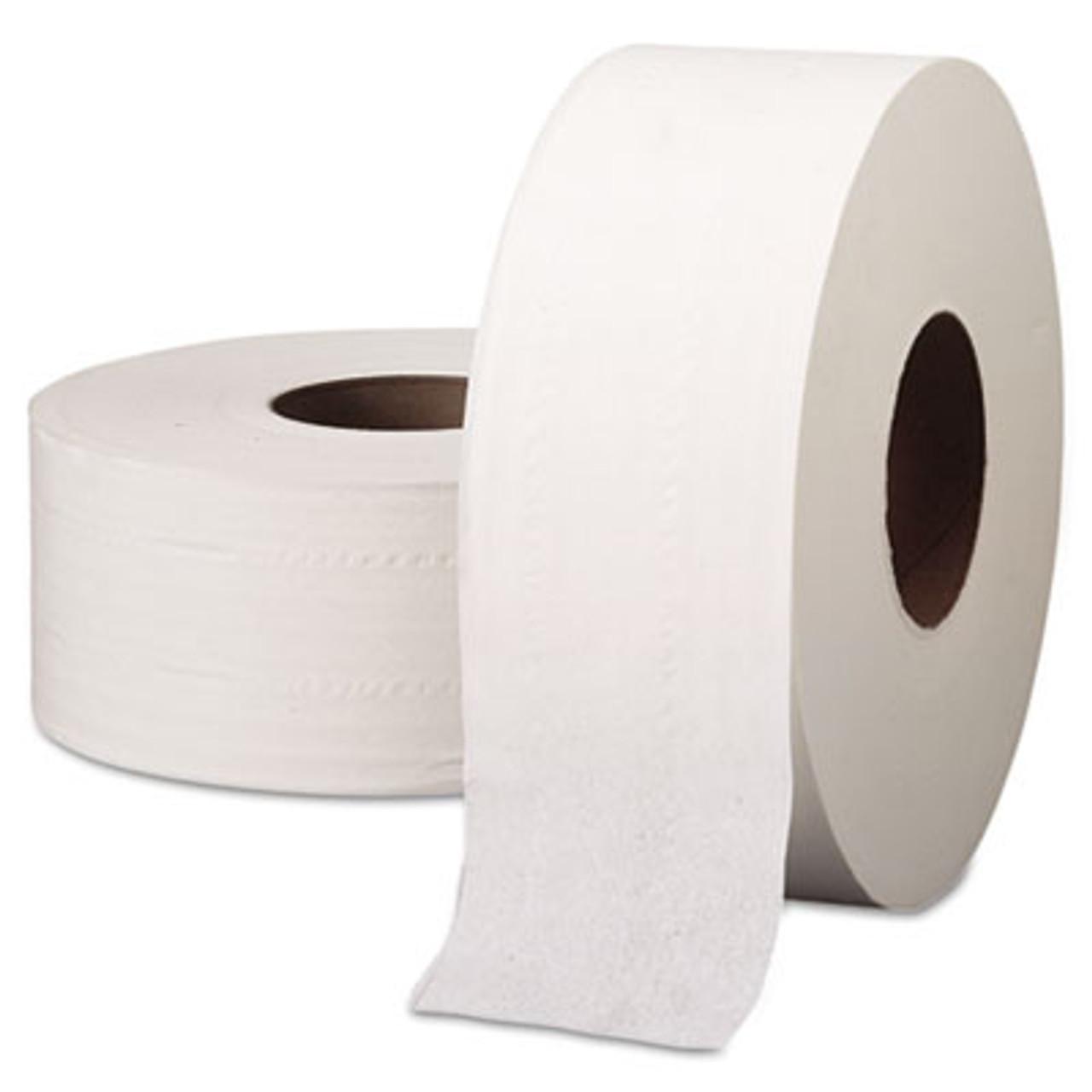 Kcc 03148 33 43 Essential Jrt Jumbo Roll Bathroom Tissue Septic Safe 2 Ply White 1000 Ft 4 Rolls Carton