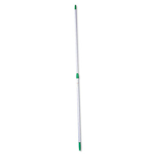 Unger Opti-Loc Aluminum Extension Pole  18ft  Three Sections  Green Silver (UNG ED550)
