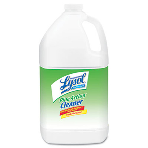 Professional LYSOL Brand Disinfectant Pine Action Cleaner Concentrate  1 gal Bottle (REC 02814)