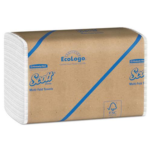 Scott Essential 100  Recycled Fiber Multi-Fold Towels  9 1 5 x 9 2 5  250 Pk  16 Pk CT (KCC 01804)