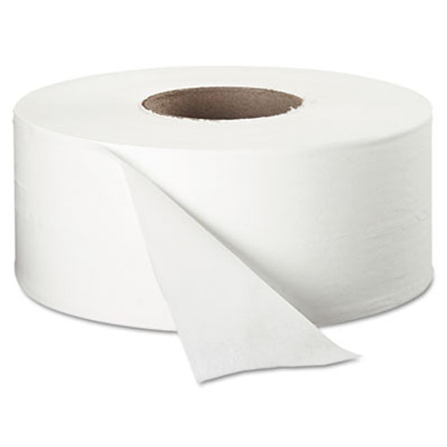 "Cottonelle JRT Jr. Roll Tissue, 2-Ply, 7.9""dia, 750ft, 12/Carton (KCC 07304)"