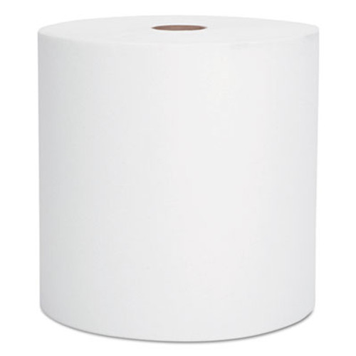 Scott Essential High Capacity Hard Roll Towel  1 5  Core 8 x 1000ft  White 12 Rolls CT (KCC 01000)