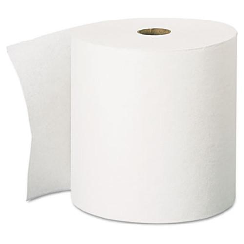 Scott Essential High Capacity Hard Roll Towel  1 5  Core 8 x 1000ft  White 12 Rolls CT (KCC 01000)