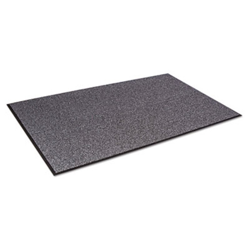 Crown Walk-A-Way Indoor Wiper Mat, Olefin, 48 x 72, Gray (CRO WA46 GRA)