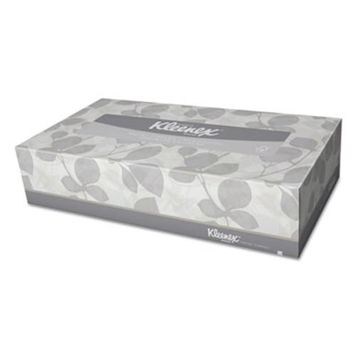 Kleenex White Facial Tissue  2-Ply  125 Sheets Box  12 Boxes Carton (KCC 03076)