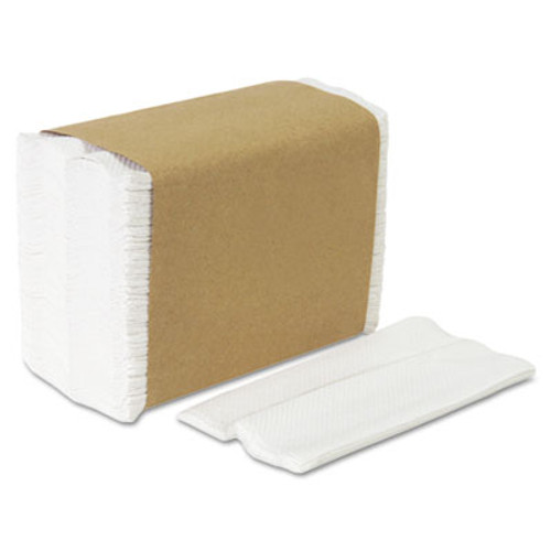 Georgia Pacific Professional Tall Fold Dispenser Napkins  1-Ply  7 x 13 1 2  White  10000 Carton (GPC 332-01)