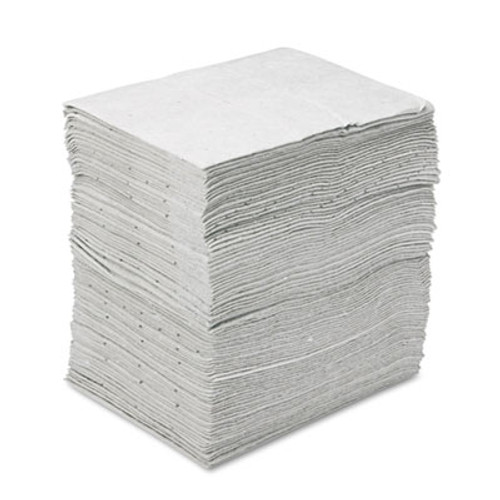 3M Sorbent Pads  High-Capacity  Maintenance 0 375gal Capacity  100 Carton (MCO M-PD1520DD)