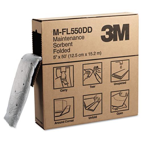 3M Sorbent Pads  High-Capacity  Maintenance 0 375gal Capacity  100 Carton (MCO M-PD1520DD)