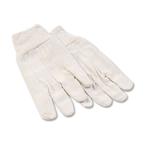 Boardwalk 8 oz Cotton Canvas Gloves  Large  12 Pairs (BWK 7)