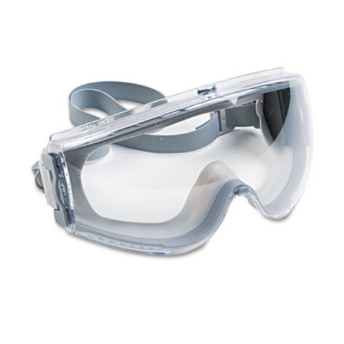 Honeywell Uvex Stealth Antifog  Antiscratch  Antistatic Goggles  Clear Lens  Gray Frame (UVX S3960C)