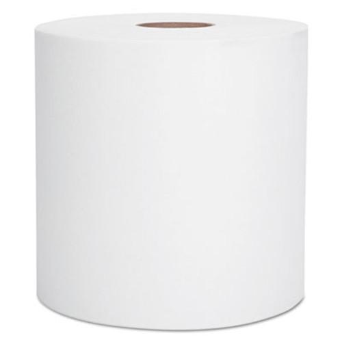 Scott Essential Hard Roll Towel  1 5  Core  8 x 400ft  White  12 Rolls Carton (KCC 02068)
