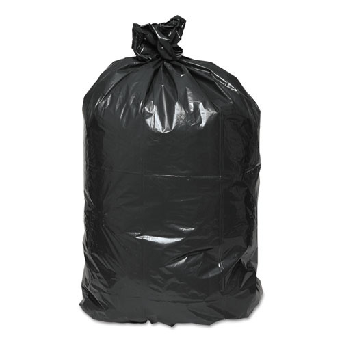 Earthsense Commercial Linear Low Density Recycled Can Liners  56 gal  1 25 mil  43  x 48   Black  100 Carton (WEB RNW4750)