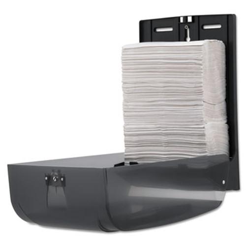 Georgia Pacific Professional C-Fold/Multifold Towel Dispenser, 11 x 5 1/4 x 15 2/5, Translucent Smoke (GPC 566-50/01)