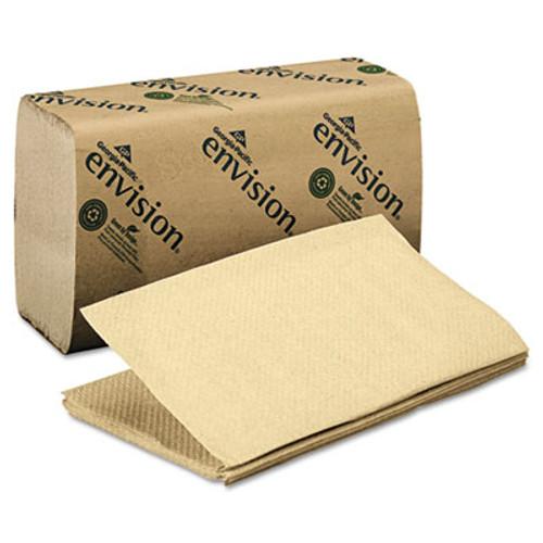 Georgia Pacific Professional 1 Fold Paper Towel, 10 1/4 x 9 1/4, Brown, 250/Pack, 16 Packs/Carton (GPC 235-04)