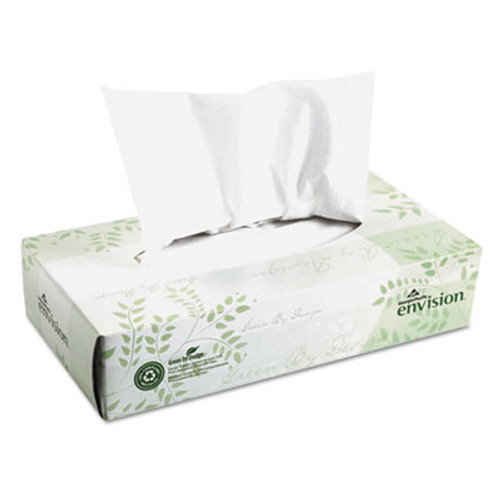 Georgia Pacific Professional Facial Tissue  2-Ply  White  100 Sheets Box  30 Boxes Carton (GPC 474-10)