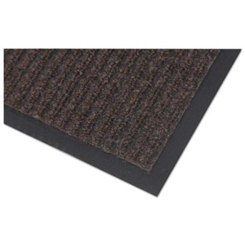 Crown Needle Rib Wipe and Scrape Mat  Polypropylene  36 x 60  Brown (CRO NR35 BRO)